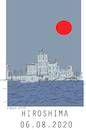 Cartoon: Hiroshima 2020 (small) by gungor tagged japan