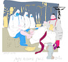 Cartoon: Holy Kiss (small) by gungor tagged pandemic