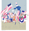 Cartoon: Independence Day 2019 (small) by gungor tagged usa