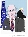 Cartoon: John Kelly (small) by gungor tagged usa