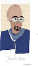 Cartoon: Junot Diaz (small) by gungor tagged usa