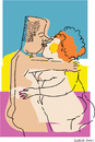 Cartoon: Kiss (small) by gungor tagged pair