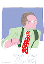 Cartoon: Larry King (small) by gungor tagged usa