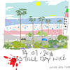 Cartoon: Nice (small) by gungor tagged france