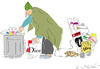 Cartoon: Recycling (small) by gungor tagged living