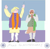Cartoon: Road to Ahmedabad (small) by gungor tagged usa
