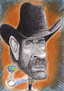 Cartoon: Chuck Norris (small) by Tomek tagged chuck,norris