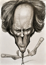 Cartoon: Do you feel lucky..punk.. (small) by Tomek tagged clint,eastwood