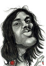 Cartoon: John Frusciante (small) by Tomek tagged john,frusciante,red,hot,chill,peppers