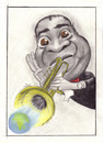Cartoon: Louis Armstrong (small) by Tomek tagged armstrong
