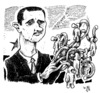 Cartoon: Al-Assad (small) by JP tagged bashar,al,assad,syrien,syria,dictator,diktator,sniper,scharfschützen