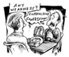 Cartoon: on the cans (small) by JP tagged auditing,scientology,emeter,psychometer,cans