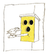 Cartoon: Ohne Titel (small) by Peter Bauer tagged blind