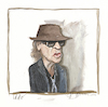 Cartoon: Udo (small) by Peter Bauer tagged karikatur,udo,lindenberg