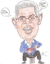 Cartoon: Elias Jagua (small) by astrocaricaturas tagged venezolanos