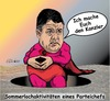 Cartoon: Sommerlochaktivitäten (small) by ESchröder tagged spd,sommerloch,sigmar,gabriel,kanzlerkandidatur,wahlkampfdebatte,kanzlerschaft,mitgliederentscheid