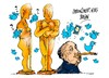 Cartoon: Oscars 2015-Alfred Hitchcock (small) by Dragan tagged oscars,2015,alfred,hitchcock