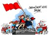 Cartoon: Rusia-Primero de Mayo (small) by Dragan tagged rusia,primero,de,mayo,politics,cartoon