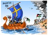 Cartoon: Suecia- Palestina (small) by Dragan tagged suecia,palestina,union,europea,ue,politics,cartoon