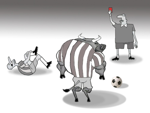 Cartoon: The Wrong Decision.. (medium) by berk-olgun tagged the,wrong,decision
