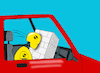 Cartoon: Airbag... (small) by berk-olgun tagged airbag