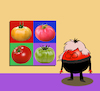 Cartoon: Andy Tomato Warhol... (small) by berk-olgun tagged andy,tomato,warhol