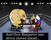 Cartoon: Boxing Chess... (small) by berk-olgun tagged boxing,chess