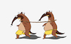 Cartoon: Cannibal Anteater... (small) by berk-olgun tagged cannibal,anteater