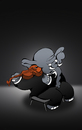 Cartoon: Cello... (small) by berk-olgun tagged cello
