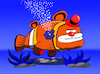 Cartoon: Clownfish... (small) by berk-olgun tagged clownfish