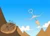 Cartoon: Corkscrew... (small) by berk-olgun tagged corkscrew