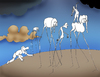 Cartoon: Dali at Desert.. (small) by berk-olgun tagged mirage