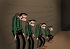 Cartoon: Daltons... (small) by berk-olgun tagged daltons