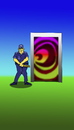 Cartoon: Dimension Door... (small) by berk-olgun tagged dimension,door