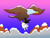 Cartoon: Eagle Mafia... (small) by berk-olgun tagged eagle,mafia