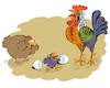 Cartoon: Farm of Picasso... (small) by berk-olgun tagged farm,of,picasso