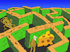 Cartoon: Labyrinth Garden... (small) by berk-olgun tagged labyrinth,garden