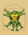 Cartoon: Leonardo... (small) by berk-olgun tagged leonardo
