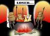 Cartoon: LOSER... (small) by berk-olgun tagged loser