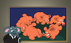 Cartoon: Matisse the Elephant... (small) by berk-olgun tagged matisse,the,elephant