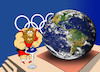 Cartoon: Olympic Games... (small) by berk-olgun tagged olympic,games