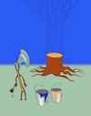 Cartoon: Painter... (small) by berk-olgun tagged painter