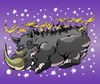 Cartoon: Rhinos Fairy Tale... (small) by berk-olgun tagged rhinos,fairy,tale