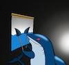 Cartoon: Shadow Theatre... (small) by berk-olgun tagged shadow,theatre