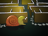 Cartoon: Snail Labyrinth... (small) by berk-olgun tagged snail,labyrinth
