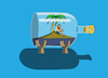 Cartoon: Sunken Ship... (small) by berk-olgun tagged sunken,ship