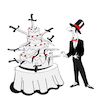 Cartoon: Surprise Party... (small) by berk-olgun tagged surprise,party