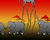 Cartoon: Surrealist Elephant... (small) by berk-olgun tagged surrealist,elephant
