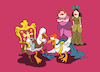 Cartoon: The Duck Prince... (small) by berk-olgun tagged the,duck,prince