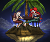 Cartoon: The Hot Mermaid... (small) by berk-olgun tagged the,hot,mermaid